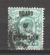 Great Britain 1902 BOARD OF EDUCATION Mi 17 Canceled - Dienstpost