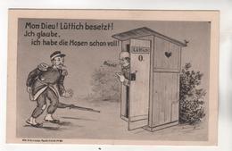 +3468, Motive > Militaria > Humor, Lüttich Besetzt - Humor