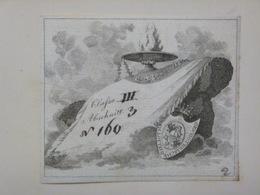 Ex-libris Héraldique Illustré XVIIIème - ALLEMAGNE - CHOTEK - Ex-libris