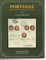 Portugal Emisiones Clasicas 1853-1864 - Soler Y Llach1992 - Catalogues De Maisons De Vente