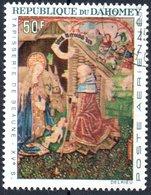 DAHOMEY, POSTA AEREA, AIRMAIL, NATALE, CHRISTMAS, 1966, 50 F., USATO Mi:DY 293, Scott:DY C46, Yt:DY PA50 - Benin – Dahomey (1960-...)