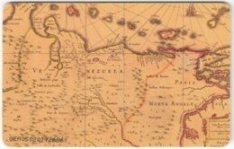 VENEZUELA B-297 Chip CanTV - Historic Map, Venezuela - Used - Venezuela