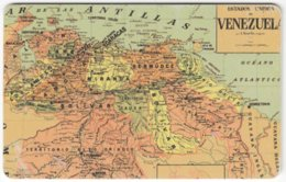 VENEZUELA B-301 Chip CanTV - Historic Map, Venezuela - Used - Venezuela