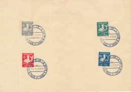 Nederland - 1930 - Kindserie Op Velletje Met Stempel Conference De La Haye - Lettres & Documents