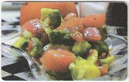 VENEZUELA B-323 Chip CanTV - Food, Traditional Meal - Used - Venezuela