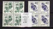POLONIA - 1989 - Medical Plants - Mi. 3214/5 - Yv.3024/5 Serie Cpl. 2v. In Belle Quartine Nuovi** - Nuovi