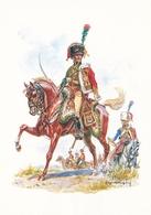 Illustree Leliepvre Cavaliers De L Empire Officier Chasseur A Cheval Garde Imperiale   Armée Napoléon - Altre Illustrazioni