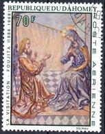 DAHOMEY, POSTA AEREA, AIRMAIL, ANNUNCIAZIONE, 1968, 70 F., USATO, Mi:DY 365, Scott:DY C90, Yt:DY PA94 - Benin – Dahomey (1960-...)