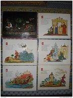 RUSSIE ILLUSTRATIONS  CONTES DE A S POUCHKTINE LENINGRAD 1964 - Livres, BD, Revues
