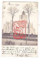 PK Beveren Ad IJzer Alveringem - Sint-Audomaruskerk M Kerkhof - Fotokaart 1903 / Nr Mdm Julie Slock Wingene (+ Brugge ) - Alveringem