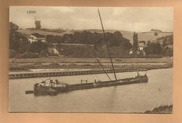 Oude Postkaart   LIEPE. Panorama Finow-kanal. - Allemagne