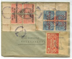 PARAGUAY OLD COVER SURCHARGE STAMPS # 6056 150120I - Paraguay