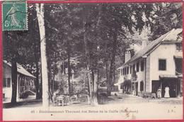 CPA 74 CRUSEILLES Etablissement Thermal Des Bains De La Caille C/ La Roche Sur Foron - Sonstige Gemeinden