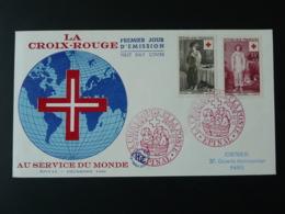 FDC Croix Rouge Red Cross Epinal 88 Vosges 1956 - Croix-Rouge