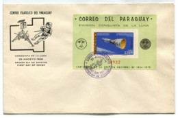 SPACE PARAGUAY GOOD SHEET COVER FDC # 6358 150120I - Paraguay