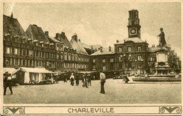 CHARLEVILLE.  Marché Pendant L'occupation (carte Allemande) - Charleville