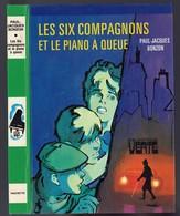 """Bibliothèque Verte - Paul Jacques Bonzon - """"Les Six Compagnons Et Le Piano à Queue"""" - 1980 - Bibliotheque Verte"""