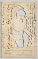 CIUDAD DE BUENOS AIRES  SOCAVADA PARA MIRAR CONTRA LA LUZ SE VE EL ROSTRO DE MARCONI POSTCARD POST CARD 120120 - Argentinië