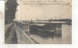 Gigny, Le Bateau Parisien Sortant De L'Ecluse - France
