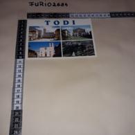 C-84400 TODI PIAZZA DEL POPOLO TEMPIO DI SAN FORTUNATO LA CATTEDRALE PANORAMA VEDUTE - Italy