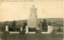Das Denkmal Bei NOYERS In Der Nähe Von SEDAN - Francia