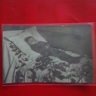 CARTE PHOTO CURIOSITE MORTUAIRE - Cartoline