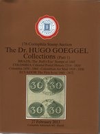 Brazil The Bull Eyes Stamps, Colombia, Ecuador - The Dr H. Goeggel Collection - Corinphila 2013 With Results - Catalogues De Maisons De Vente