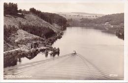 Seltene ALTE  Foto- AK   TALSPERRE GOLDENTRAUM - Jezioro Zlotnicki / Schlesien / Polen  - Teilansicht - 1930 Ca. - Schlesien