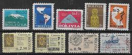 1978-9 Bolivia 9v. - Bolivien