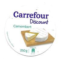 ETIQUETTE De FROMAGE Cartonnée..CAMEMBERT..CARREFOUR Discount - Cheese