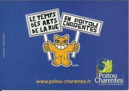 Le Temps Des Arts De La Rue En Poitou Charente , 2007 , Illustration: Thoma Vuille - France