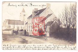 PK Beveren Ad IJzer Alveringem - Sint-Audomaruskerk M Pastorij - Fotokaart 1903 / Nr Mdm Julie Slock Wingene (+ Brugge ) - Alveringem