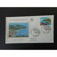 FDC Soie - Alpes Maritimes - Port De Villefranche Sur Mer - 4/6/2005 - FDC