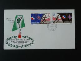 FDC South Pacific Games Nouvelles Hebrides GB 1969 - FDC