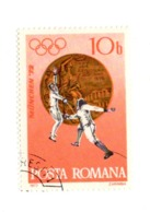 Roumanie RO 2720  1972 Fencing And Bronze Medal  Escrime | Jeux Olympiques | Médailles Et Honorifications | Sport - Used Stamps