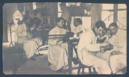 Dentiste Dentist  1915 1916  Laboratoire Ecole Dentaire 8 X 13.5 Cm Carte Recoupée - Santé