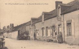 45 /  Saint Lyé  La Forêt  : Recette Buraliste Et La Poste   ////   JANV. 20 ///   BO. 45 - France
