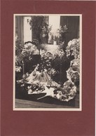 PORTUGAL  PHOTO PHOTOGRAPH - PHOTOGRAPHY - FUNERAL - POST MORTEM   -  24,3  Cm X 17  Cm - Anonymous Persons