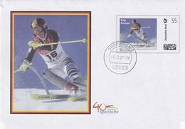 Germany 2007 Postal Stationery Cover: Alpine Skiing; FIS; Ski Alpin; Katja Seizinger; - Winter (Other)
