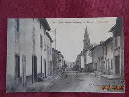 CPA - Saint-Germain-l'Espinasse - La Grande Rue - Autres Communes