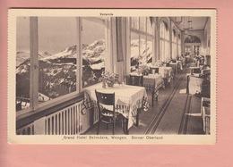 OLD POSTCARD - SWITZERLAND - SCHWEIZ -  SUISSE -      GRAND HOTEL BELVEDERE - WENGEN - BE Berne