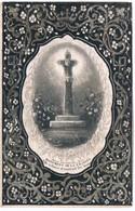 Priez Pour. Bouttiau Benoit. Veuf. Meuret Hyacinte. ° Harmignies 1787 † Harmignies 1861  (2 Scan's) - Religion &  Esoterik