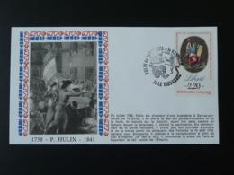 Lettre Cover Révolution Française Général Hulin Napoleon Le Vaudreuil 27 Eure 1989 - Napoleon