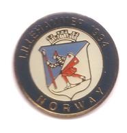 CC183 Pin's LILLEHAMMER 1994 NORWAY NORVÈGE JO écusson Thème VIKING Achat Immédiat - Wintersport