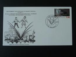 Lettre Cover Congrès Philatélique Jeunesse Beaumont 63 Puy De Dome 1995 - France