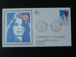 Lettre FDC Congrès Du Parlement Versailles 1996 - France