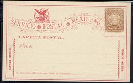 Mexique - Entier Postal Service Intérieur 3 Centavos Neuf  -TB - - Mexico
