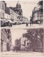 42. ROANNE. Rue Alsace-Lorraine. 2 Cartes (1) - Roanne