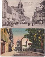 42. ROANNE. Rue Alsace-Lorraine. 2 Cartes (2) - Roanne