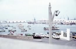 1980 PUERTO CEUTA AFRICA ESPANA SPAIN SIMCA 1500 RENAULT 8 COCHE 35mm AMATEUR DIAPOSITIVE SLIDE Not PHOTO No FOTO B4955 - Diapositives